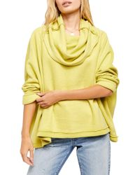 Free People Huntington Pullover - Yellow