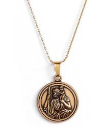 ALEX AND ANI - Saint Christopher Pendant Necklace - Lyst