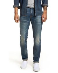 7 For All Mankind - 7 For All Mankind Adrien Slim Fit Jeans - Lyst