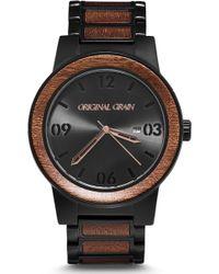 Original Grain The Barrel Bracelet Watch - Metallic