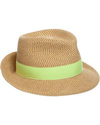 Eric Javits - Classic Squishee Packable Fedora Sun Hat - Lyst