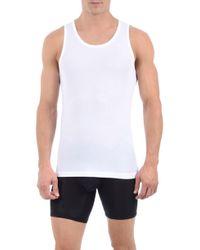 Tommy John Second Skin Tank Undershirt - White