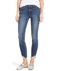 PAIGE - Transcend Vintage - Verdugo Ankle Skinny Jeans - Lyst