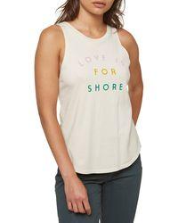 O'neill Sportswear For Shore Print Tank - Multicolor