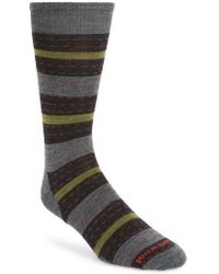 Smartwool | Omano Stripe Wool Blend Socks | Lyst