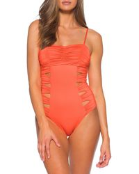 SOLUNA Clear Skies Maillot Cutout One-piece Swimsuit - Black