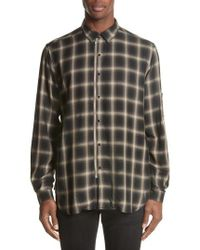 The Kooples   Check Woven Shirt   Lyst