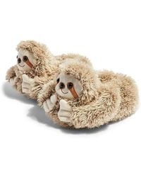 TOPSHOP Sloth Slippers - Multicolor