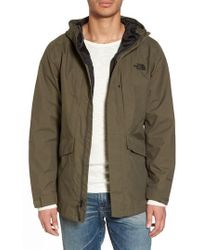 The North Face - El Misti Trench Ii Hooded Jacket - Lyst