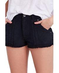 Free People - Get Far Out Cutoff Shorts - Lyst