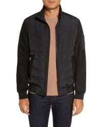 Michael Kors - Mixed Media Quilted Jacket - Lyst