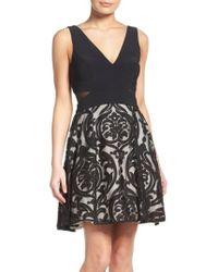 Xscape - Fit & Flare Dress - Lyst