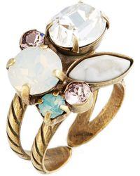 Sorrelli - Intermix Crystal Ring - Lyst