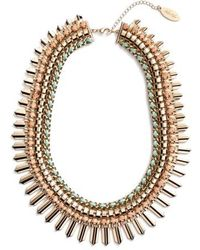 Adia Kibur - Crystal Statement Necklace - Lyst