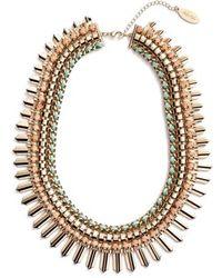 Adia Kibur | Crystal Statement Necklace | Lyst
