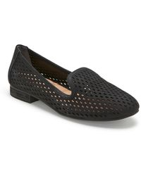 Me Too Yane Perforated Loafer - Black