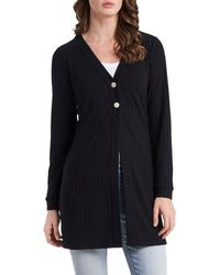 Vince Camuto Two-button Cardigan - Black
