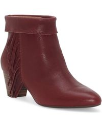 Lucky Brand Zakina Bootie - Red
