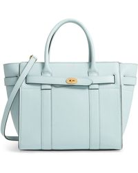c8ecb27dbc9f Mulberry - Small Zip Bayswater Classic Leather Tote - - Lyst