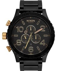 Nixon 'the 51-30 Chrono' Watch - Metallic