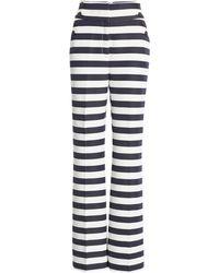 Halogen Halogen X Atlantic-pacific High Waist Flare Pants - Blue