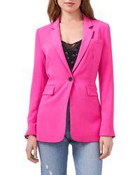 1.STATE One-button Blazer - Pink