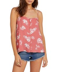 Volcom Stone Steps Camisole - Red