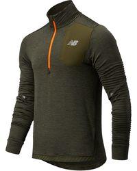 Run Heat Grid Men's Half Zip Performance Pullover