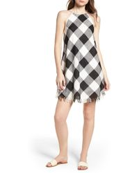 BISHOP AND YOUNG - Bishop + Young Gingham Shift Dress - Lyst