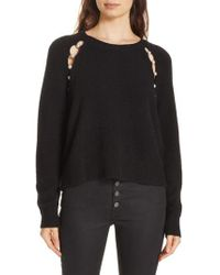 Alice + Olivia - Jolynn Relaxed Pullover Sweater - Lyst