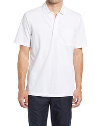 Club Monaco Solid Polo - White