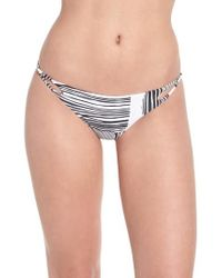 Volcom - Out Of Line Bikini Bottoms - Lyst
