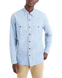 J.Crew | J.crew Wallace & Barnes Chambray Work Shirt | Lyst