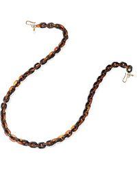 Lele Sadoughi Mask & Eyeglass Chain - Multicolor