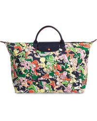 Longchamp - X Clo'e Floirat Le Pliage Illustration Numbered Limited Edition Travel Bag - Lyst