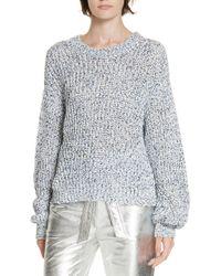 Veronica Beard - Ryce Cotton Sweater - Lyst