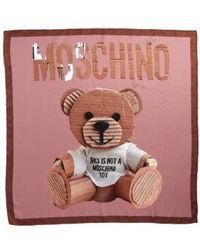 Moschino | Foulard Silk Square Scarf | Lyst