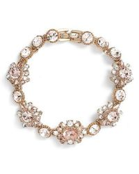 Marchesa - Line Bracelet - Lyst