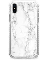 Casetify - White Marble Iphone X Case - - Lyst