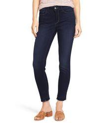 NYDJ   Ami Release Hem Stretch Skinny Jeans   Lyst