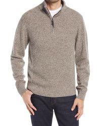 Rodd & Gunn Charlestown Quarter Zip Sweater - Natural