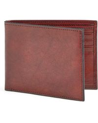 Bosca - 'old Leather' Deluxe Wallet - - Lyst
