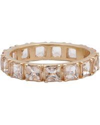Armenta Rose World Princess Cut Morganite Band Ring - Multicolor