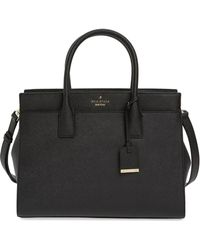 Kate Spade - Cameron Street - Candace Leather Satchel - Lyst