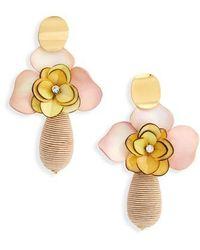 Lizzie Fortunato - Magnolia Drop Earrings - Lyst