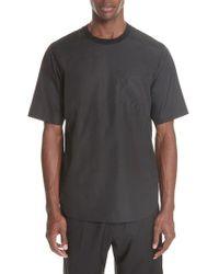 3.1 Phillip Lim - Cotton Poplin T-shirt - Lyst