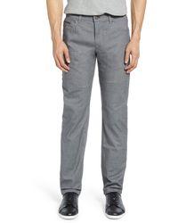 Brax Woolook 2.0 Flex Straight Leg Pants - Grey