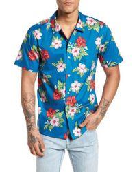 Obey - Kane Woven Shirt - Lyst