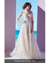 Ines by Ines Di Santo - Beckette Embellished Ballgown - Lyst