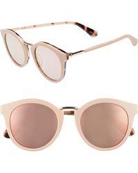Kate Spade - Joylyn 50mm Round Sunglasses - Lyst